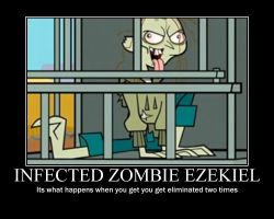 Total Drama Infected Ezekiel by AbominationOfTime