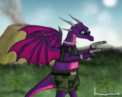 Cynder as Lara Croft - Angel of Darkness by Louisetheanimator