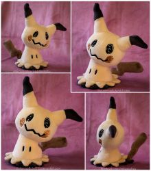 Pokemon Mimikyu Plush - Sewing Pattern for Sale by ButtercupBabyPPG