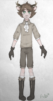 Ernest Andar - Character BIO by astra-magicka
