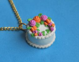 Colorful Cake Charm by Madizzo