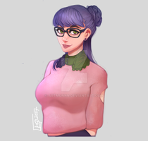 mochi sweater!(literally) by artmunnn