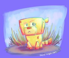 Pixie the minecat by bugbyte