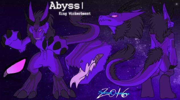  Abyss King Wickerbeast  :Reference Sheet: by SafireCreations