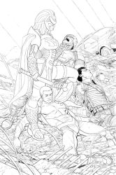 All New Invaders CVR 02 Inks by Nisachar