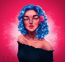 Pink n Blue by Mariipie