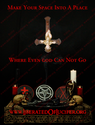 Make Your Space A Place Where Even god Can Not Go by EnlightenedOfLucifer