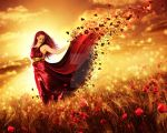 Red passion by KalosysArt