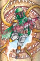 Boba Fett Commission by keelhaulkate