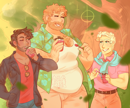 sunsetshipping [ dream daddy ] by dongoverlord