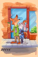 Zootopia by DanteFitts