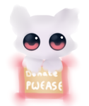 Donate  PWEASE by Sweet-DooDo