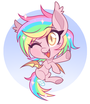 Paper Stars Chibi by Wicklesmack