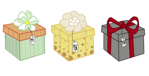 Adoptable Pony Boxes by CreatoreMagico