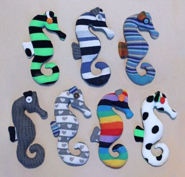 Sock Seahorses! by Madelei