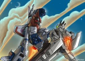 Bot vs Battroid colored by REX-203