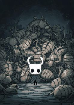 Hollow Knight Concept Art #1 by teamcherry