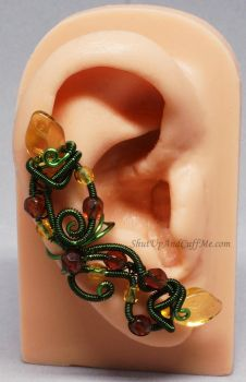 Autumn Fairy Ear Cuff by Gailavira