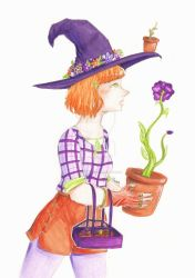 Secondary Colours Witch by ElsieDuBlog
