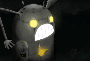 RS-2D405PX - The obsolete wandering bot by Akaabots