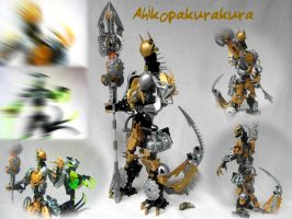 Ahikopakurakura: Makuta of Light by Glenfoxx