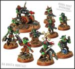 Grot Rebel Veteran Squad - Da Booty Huntaz by Proiteus