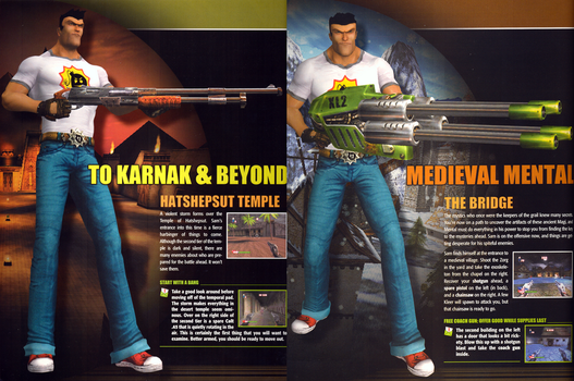 Serious Sam Renders in BradyGames Guide by FrameRater
