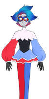 Harlequin Opal Adopt (CLOSED) by ANannyMouse3