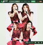 PNG Pack   4 PNG HQ   Ailee by SJIsParadise