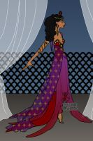 Erte Elegance: Esmeralda Festival by moonprincess22