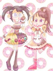 Delicious donut dresses [CROSSOVER] by the01angel