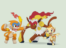 Pokemon 38~Chimchar Evolution~