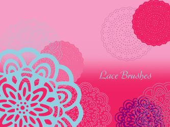 Lace Brushes by BlacQueen