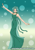 Commish: Princess Neptune by E-Zeal