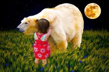 Polar bears and babies by TuSheaCrafts