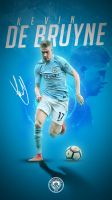 Kevin de Bruyne Phone Wallpaper 2017/2018 by GraphicSamHD