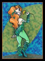 Poison Ivy by gypsygirlpress