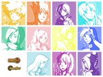 Golden Sun Squads by MarVogue