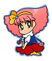 Chibi Minky Momo_cut out by StarValerian
