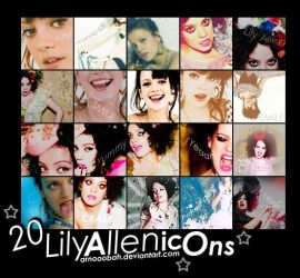 Lily Allen icons by ArNoOoBah