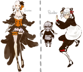 Adoptables quick auction (CLOSED) by 253421