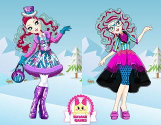 Ever After High Epic Winter Madeline Hatter by heglys
