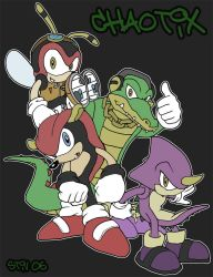 Chaotix 2006 by TheStiv