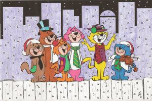 A Top Cat Christmas Carol by zombiegoon