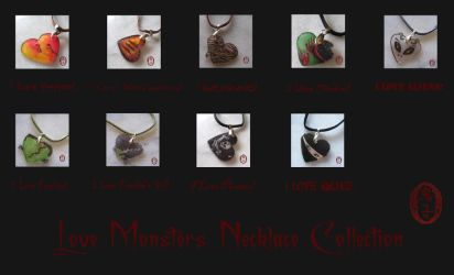 Love Monsters Collection by Oniko-art