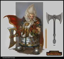 Grombrindal the White Dwarf by rineart