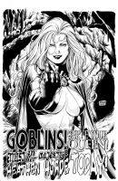 Goblin Queen - Inks by edtadeo