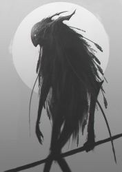 Creature sketch by ShahabAlizadeh