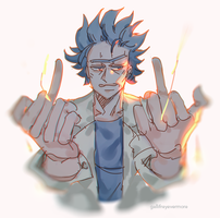 Rick by Gallifreyevermore
