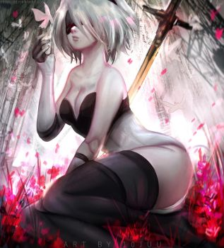2B:Gravity by 10Juu